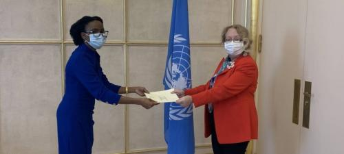 New Permanent Representative of Namibia