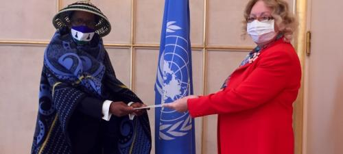 New Permanent Representative of Lesotho